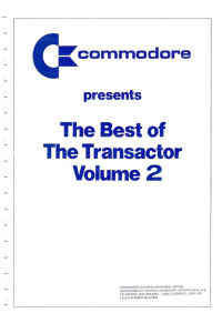 The Best of The Transactor - Volume 2
